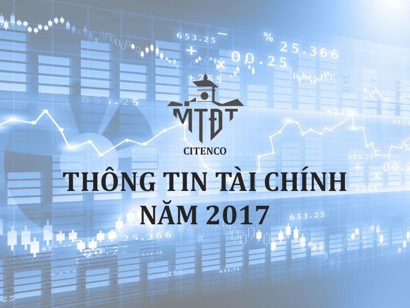 Thông tin tài chính năm 2017