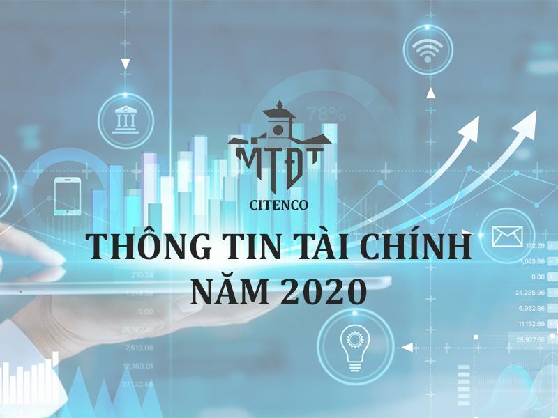 THÔNG TIN TÀI CHÍNH NĂM 2020