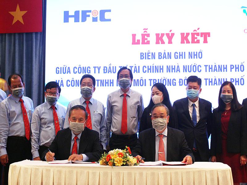 Ký kết biên bản ghi nhớ hợp tác chiến lược toàn diện với HFIC