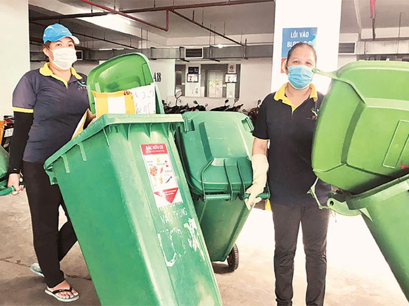 Xuân ấm cho công nhân vệ sinh môi trường