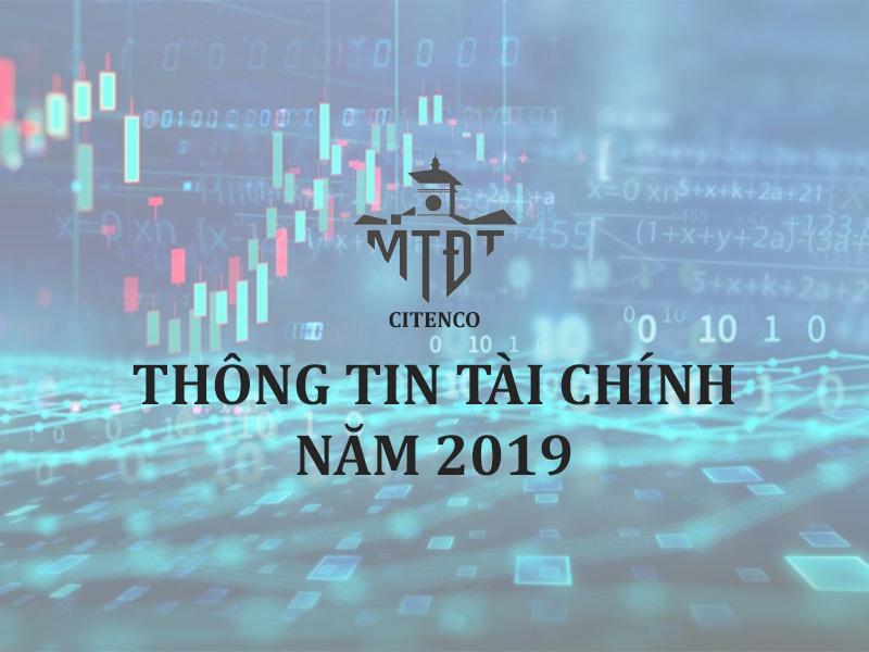 Thông tin tài chính năm 2019