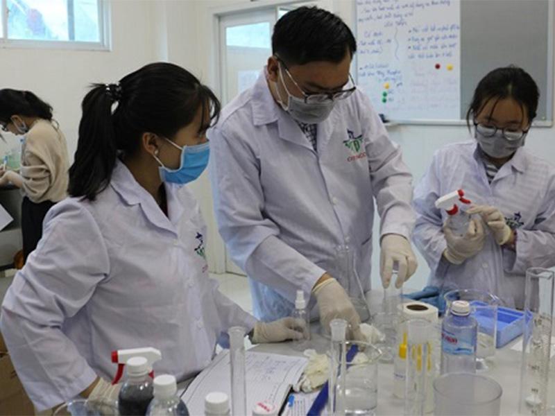 Ra mắt bộ sản phẩm vệ sinh phòng, chống dịch COVID-19