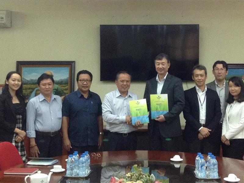 Lễ ký kết Biên bản ghi nhớ hợp tác với Công ty Hitachi Zosen