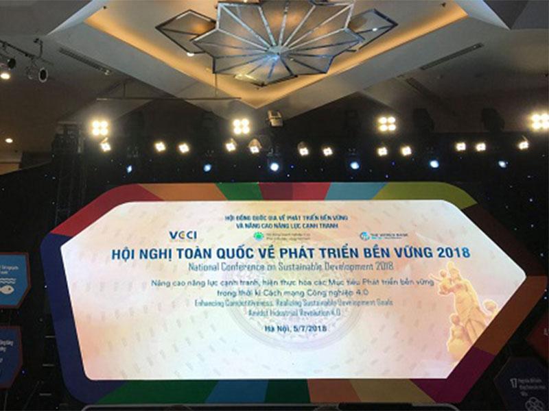 Hội nghị toàn quốc về phát triển bền vững năm 2018