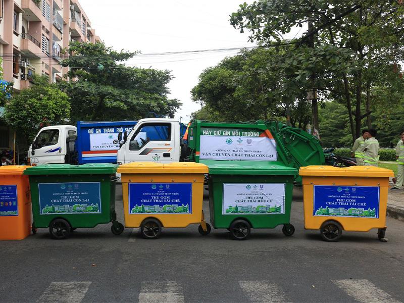 Truyền thông và mở rộng dự án Phân loại rác tại nguồn tại Quận Tân Phú