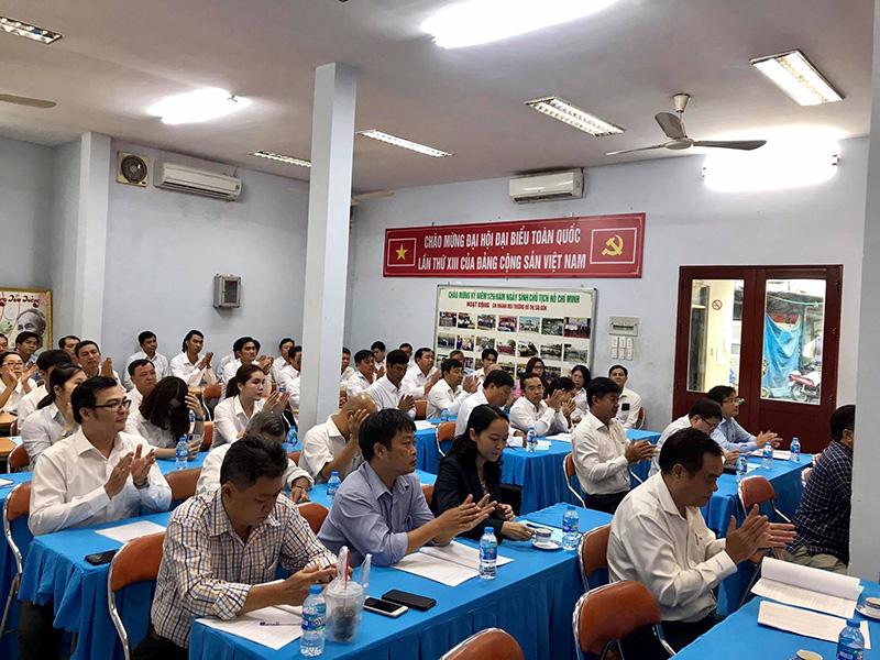 HỘI NGHỊ ĐẠI BIỂU NGƯỜI LAO ĐỘNG CHI NHÁNH MTĐT Sài Gòn NĂM 2021