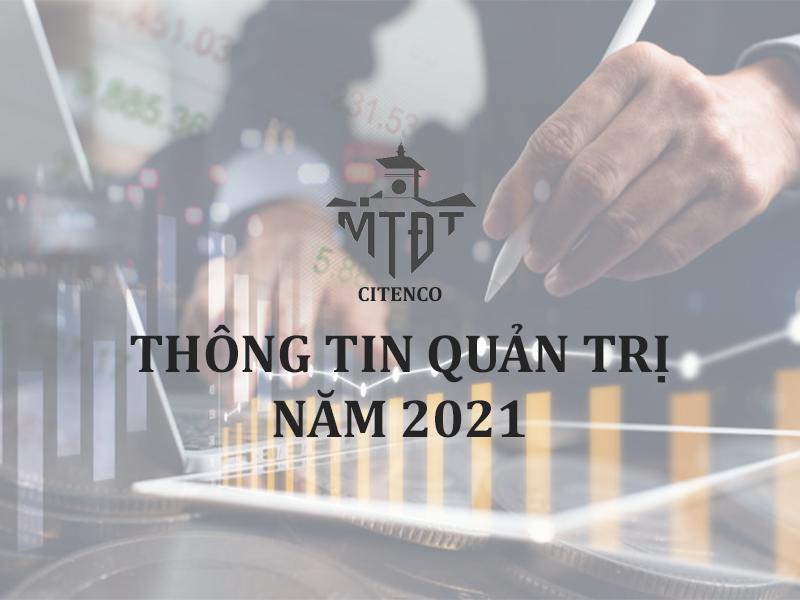 THÔNG TIN QUẢN TRỊ NĂM 2021