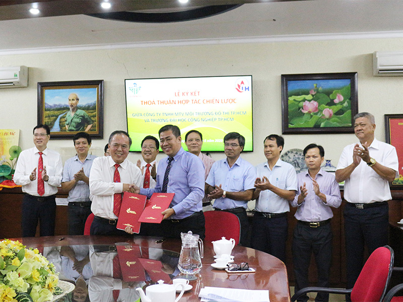 Dự án Hợp tác chiến lược với trường Đại học Công nghiệp TP.HCM
